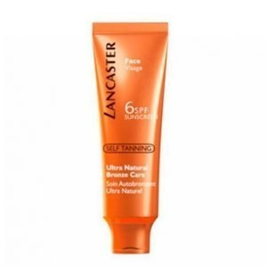 Lancaster Natural Bronze Care Spf 6 50 Ml Itseruskettava