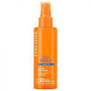 Lancaster Sun Beauty Oil Free Milky Spray Spf30 150 Ml