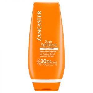 Lancaster Sun Sensitive Delicate Softening Body Milk Spf30 125 Ml