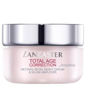 Lancaster Total Age Correction Amplified Retinol-In-Oil Night Cream And Glow Amplifier 50 Ml