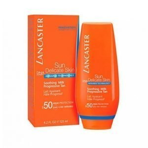 Lancaster Ultra Soothing M. Spf50 125 Ml Aurinkovoide