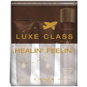 L'anza Keratin Healing Oil Mini Gift Set With Free Travel Purse 50 Ml
