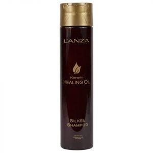 L'anza Keratin Healing Oil Silken Shampoo 300 Ml