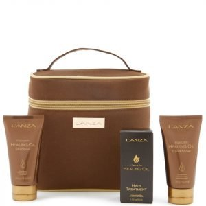 L'anza Keratin Healing Oil Travel Set