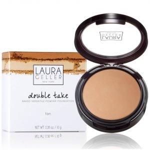 Laura Geller Double Take Baked Versatile Powder Foundation Various Shades Tan