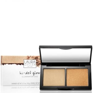 Laura Geller Hi-Def Glow Illuminator Duo Heart Of Gold 8.4 G