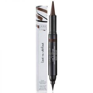 Laura Geller Line-N-Define Dual Dimension Eyeliner Various Shades Brown