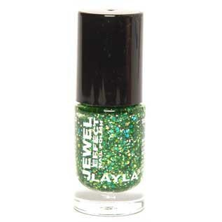 Layla Jewel Effect Nail Polish 07 Emerald