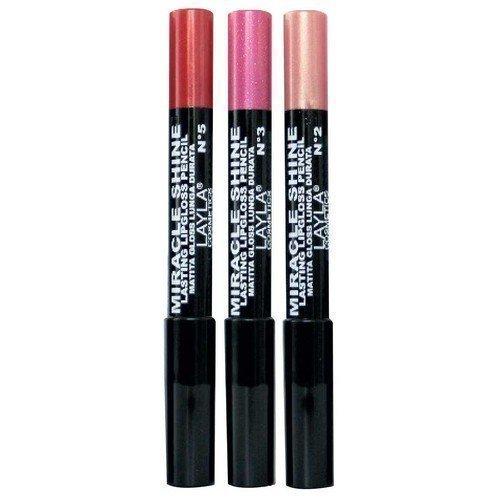 Layla Miracle Shine Lasting Lipgloss Pencil 5