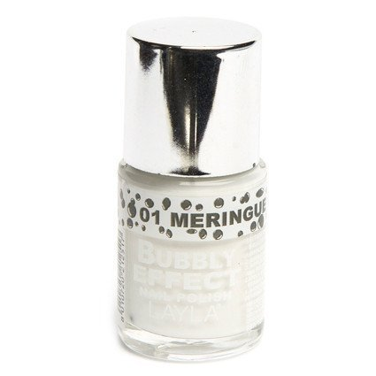Layla Nail Polish Bubbly Effect 01 Meringue Pie