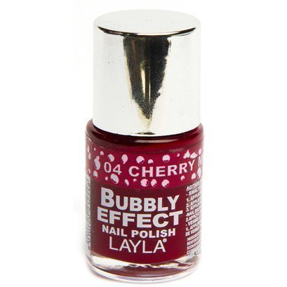 Layla Nail Polish Bubbly Effect 04 Cherry Muffin