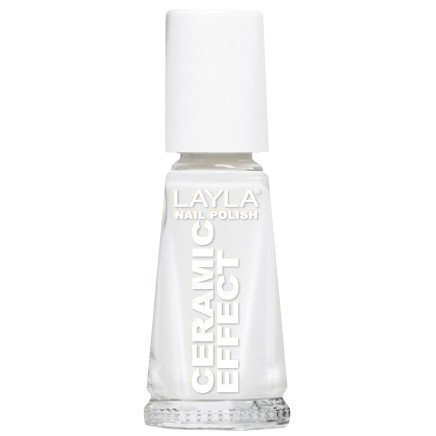 Layla Nail Polish Ceramic Effect 01 Soft White