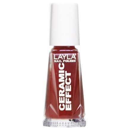 Layla Nail Polish Ceramic Effect 07 Red Passion