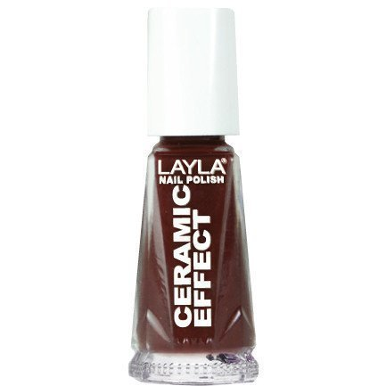 Layla Nail Polish Ceramic Effect 08 Torrid Red