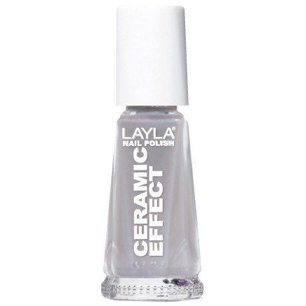 Layla Nail Polish Ceramic Effect 16 Grey Powder