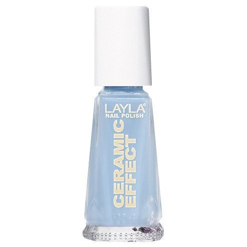 Layla Nail Polish Ceramic Effect 18 Italian Blue Sky