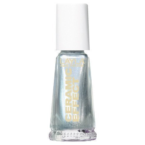 Layla Nail Polish Ceramic Effect 27 Pure Silver