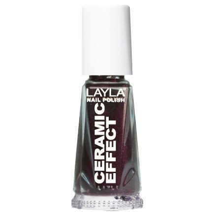 Layla Nail Polish Ceramic Effect 30 Deep Bordeaux