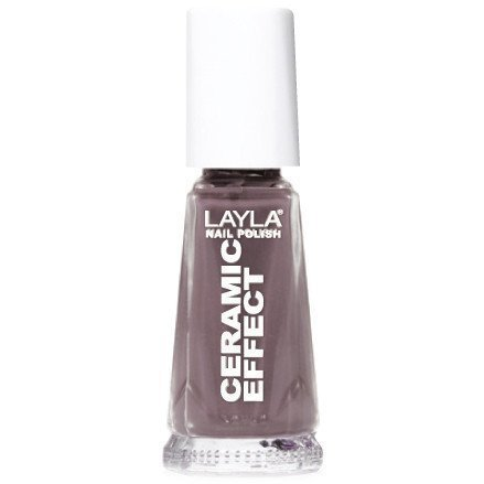 Layla Nail Polish Ceramic Effect 34 Lavender Mud