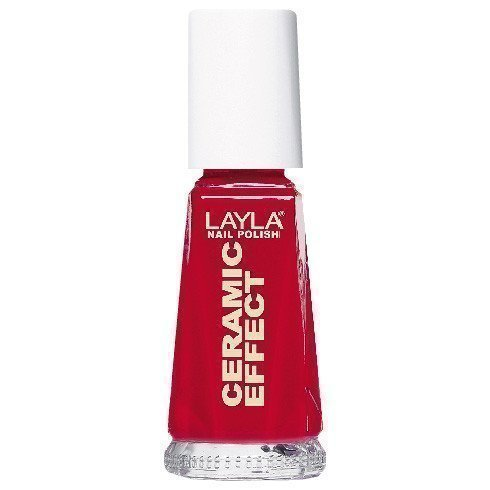 Layla Nail Polish Ceramic Effect 40 Oh My Red