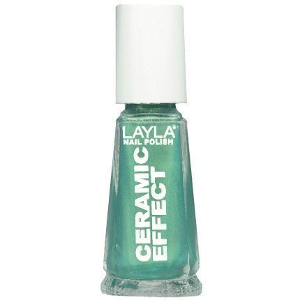 Layla Nail Polish Ceramic Effect 72 Green Illusion