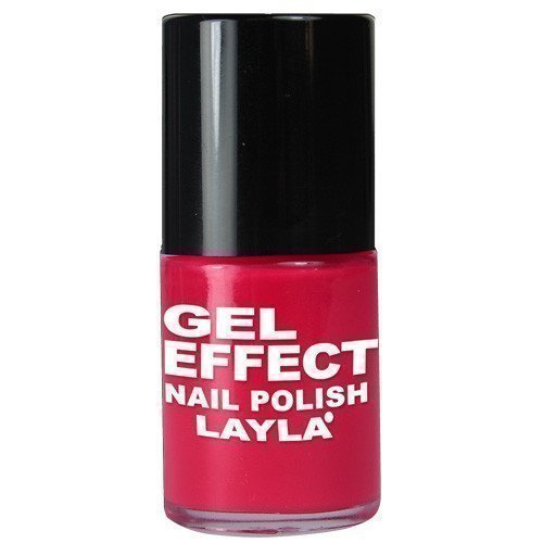 Layla Nail Polish Gel Effect 05 Coral Red
