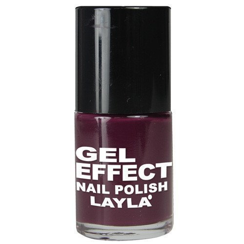 Layla Nail Polish Gel Effect 12 Smooth Purple