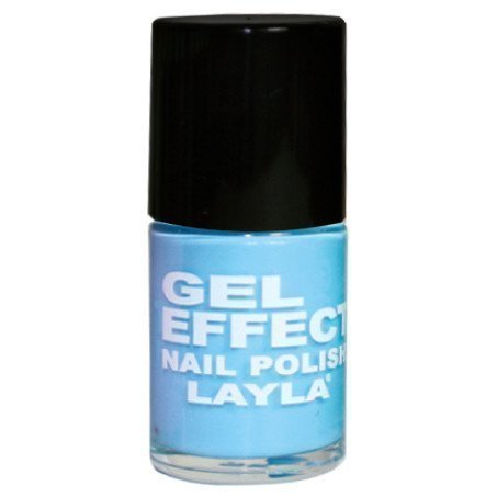 Layla Nail Polish Gel Effect 15 Blue Swim