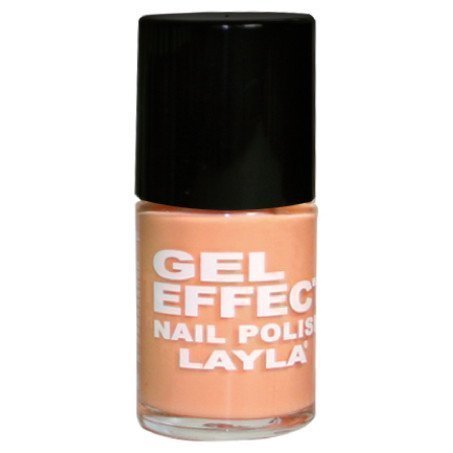 Layla Nail Polish Gel Effect 17 Orangel