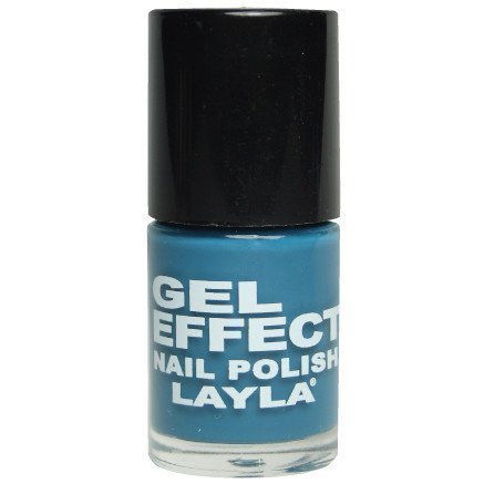 Layla Nail Polish Gel Effect 27 Dazzling Turquoise