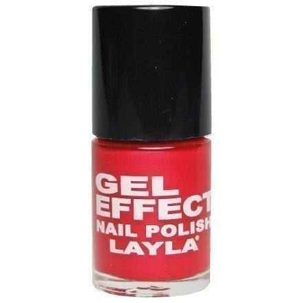 Layla Nail Polish Gel Effect 28 Cayenne
