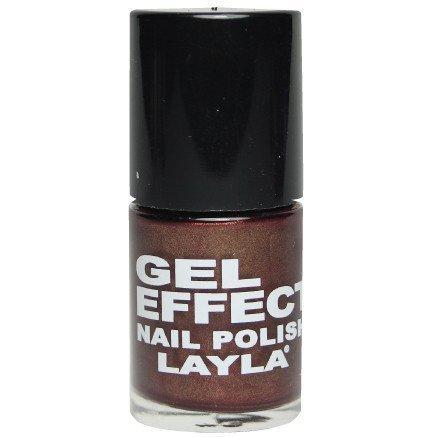 Layla Nail Polish Gel Effect 29 Magenta Purple