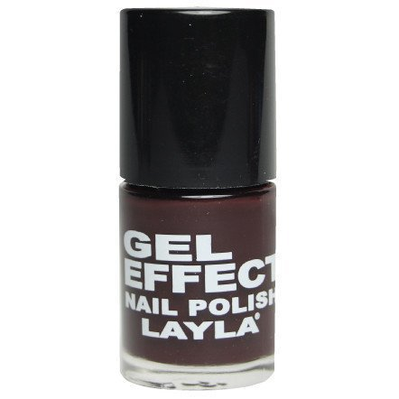 Layla Nail Polish Gel Effect 30 Raisin