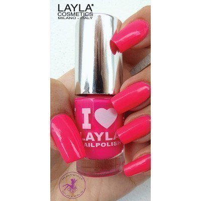 Layla Nail Polish I Love Layla 05 Light Pink Fluo