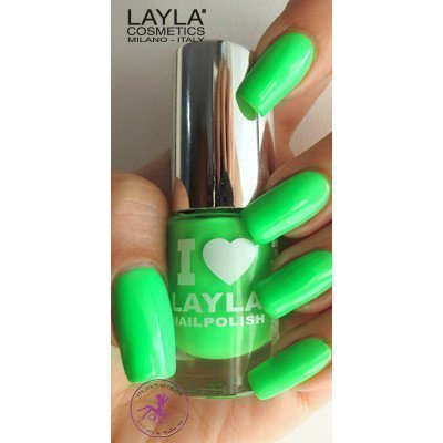 Layla Nail Polish I Love Layla 06 Dark Green Fluo