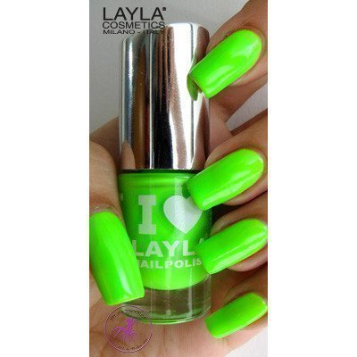 Layla Nail Polish I Love Layla 08 Light Green Fluo