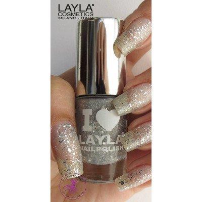 Layla Nail Polish I Love Layla 14 Glitty Silver