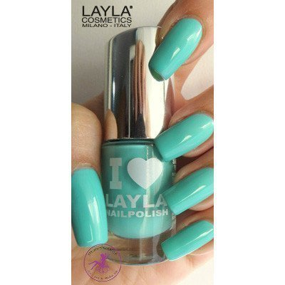 Layla Nail Polish I Love Layla 19 Greeny Blue