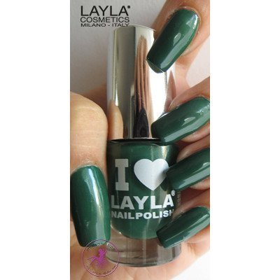 Layla Nail Polish I Love Layla 20 Deep Green