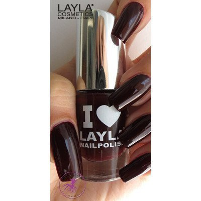 Layla Nail Polish I Love Layla 24 Red Noir