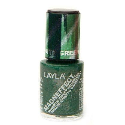 Layla Nail Polish Magn Effect 19 Mojito Green