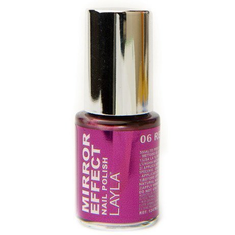 Layla Nail Polish Mirror Effect 06 Red Hot
