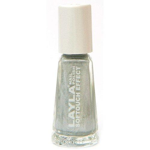 Layla Nail Polish Softouch Effect 01 Marshmallow Twinkle