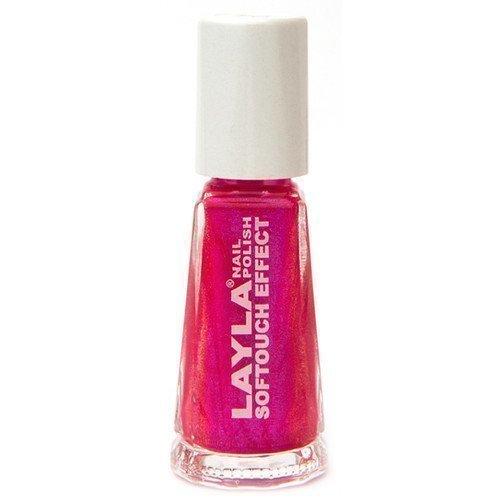 Layla Nail Polish Softouch Effect 04 Neon Pink