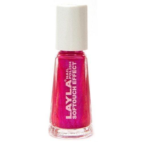 Layla Nail Polish Softouch Effect 04 Neon Pink