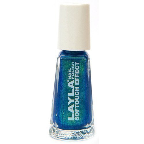 Layla Nail Polish Softouch Effect 10 Tourquoise Splash