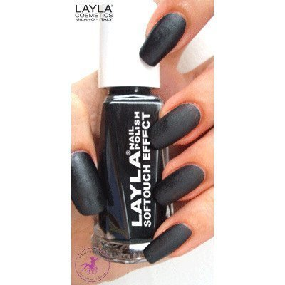 Layla Nail Polish Softouch Effect 12 Noir Touch