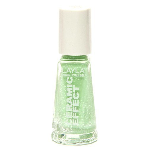 Layla Nail Polish Sorbet Ceramic Effect 105 Mint Dynasty