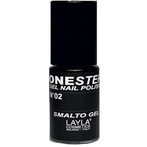Layla One Step Gel Nail Polish 02 100% Black