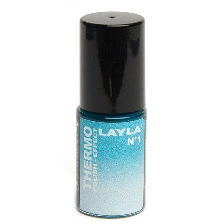 Layla Thermo Polish Effect N.1 Dark to Light Blue
